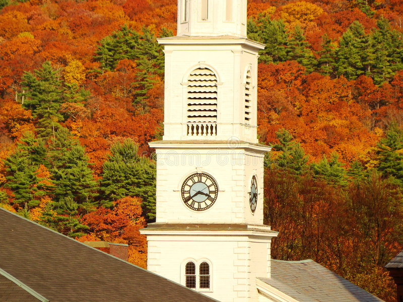 New England Church royalty free stock images