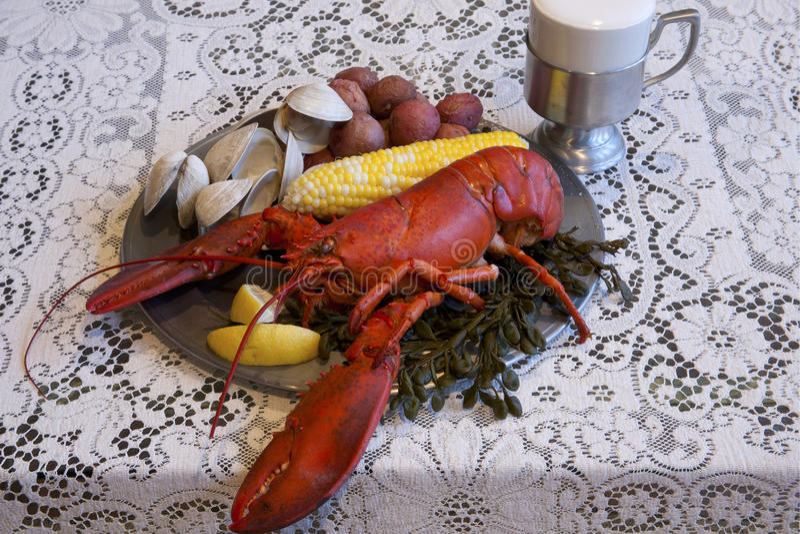 Download New England Clambake stock image. Image of seaweed, clams - 19103117