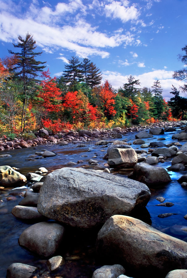 New England Fall Foliage stock photo