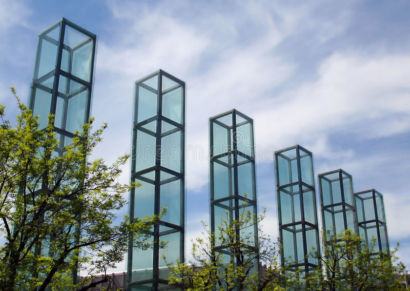 New England Holocaust Memorial stock photography