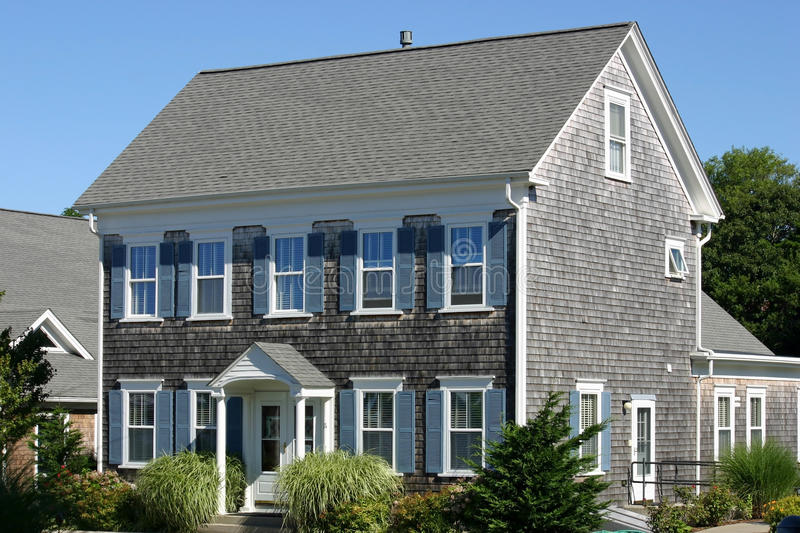 New England House 1 stock images