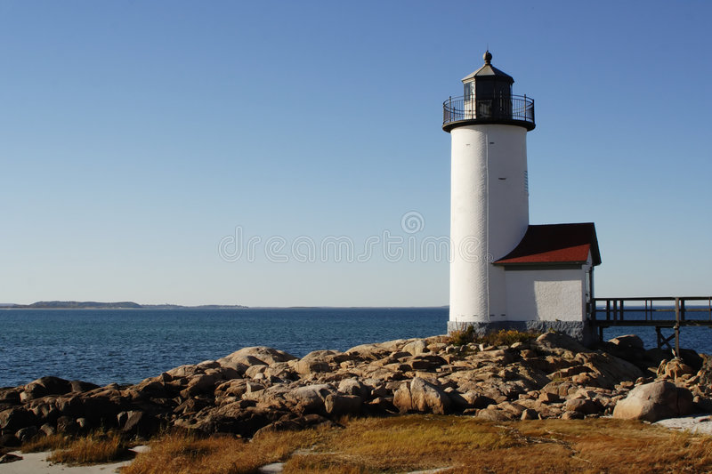 New England Light House royalty free stock images