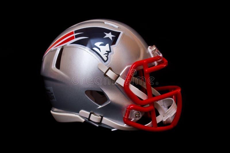 New England Patriots helmet royalty free stock photo