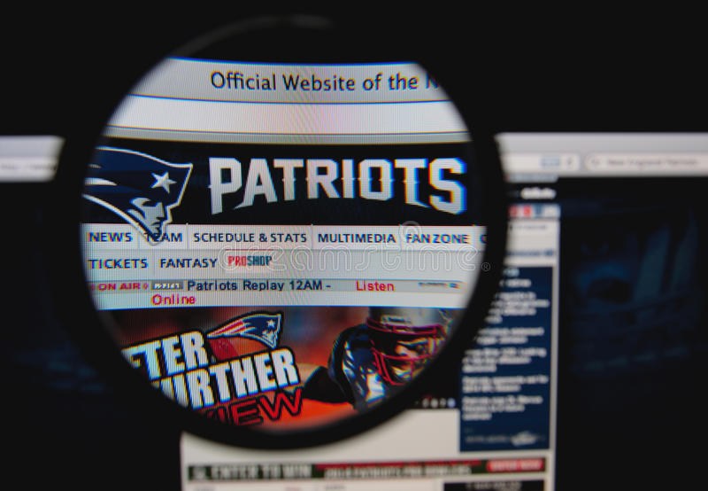 New England Patriots stock photography