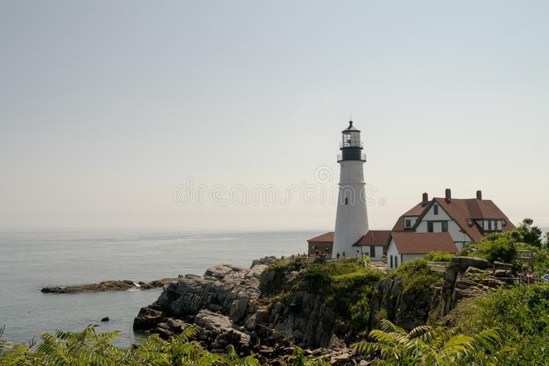 Portland Head Lighthouse, Portland Maine, USA stock image