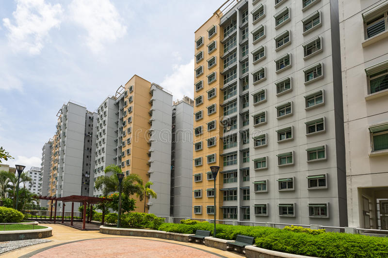 Download New Estate stock photo. Image of accommodation, block - 34202660