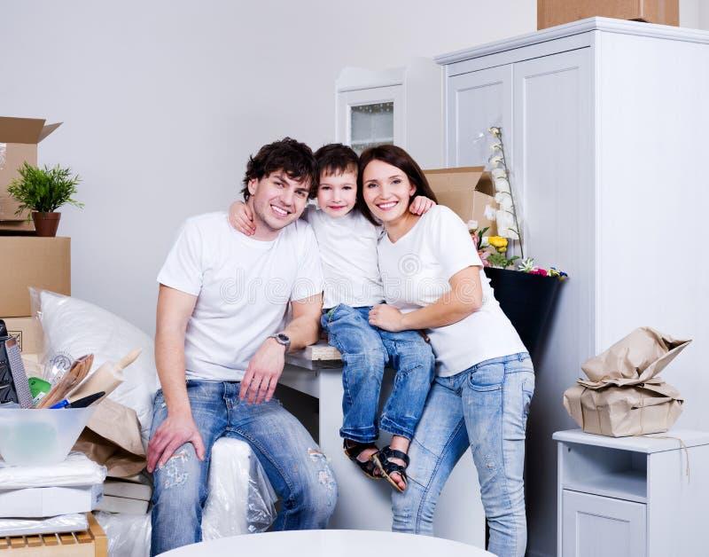 New Family S Home Stock Photos
