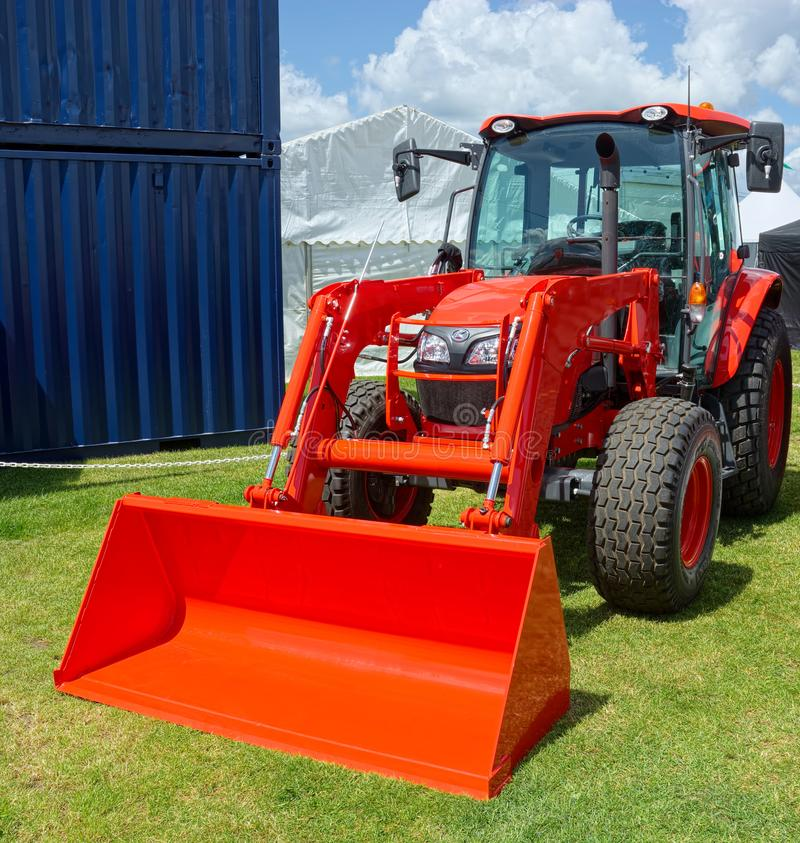 Free New Farm Tractor With Bucket Attachment. Stock Images - 150224074