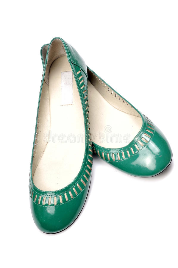 New fashionable footwears stock photo