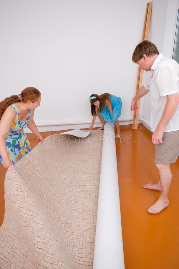 Free New Floor Covering. Stock Photography - 11469072
