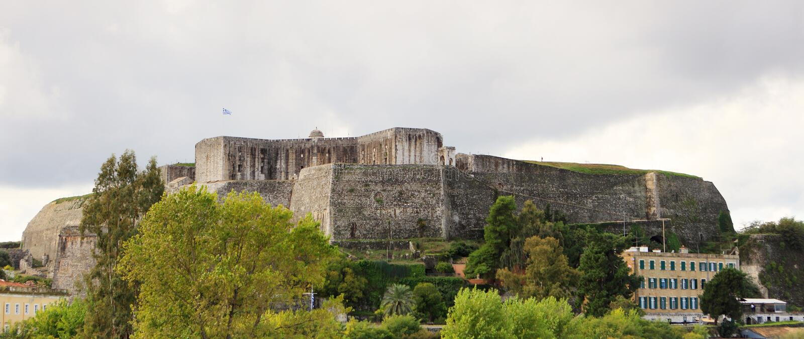 Download New Fortress In Corfu Town Royalty Free Stock Photography - Image: 18956157