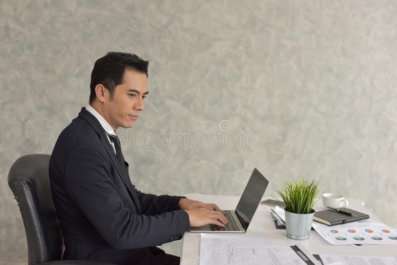 The new generation of young businessman. stock image