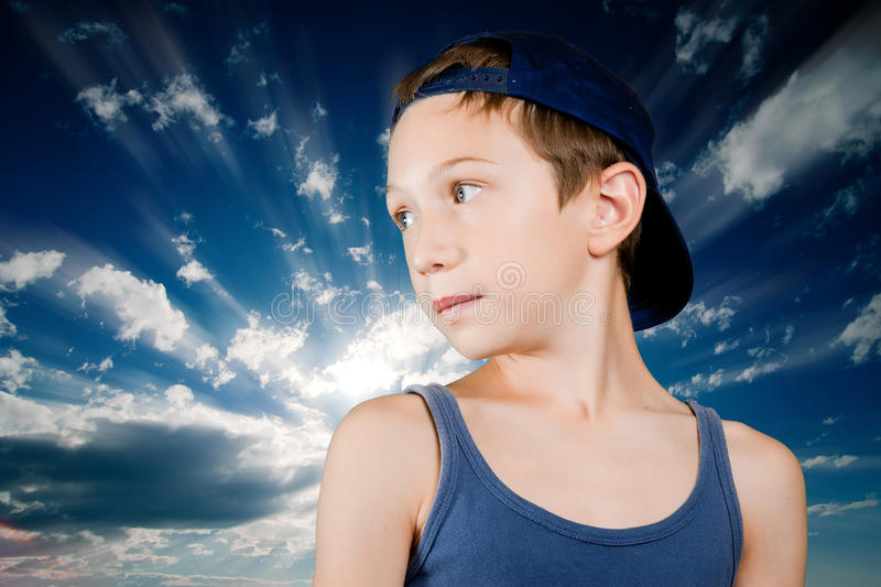 New generations stock photography