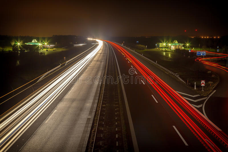 A20. The new A20 in Germany royalty free stock image