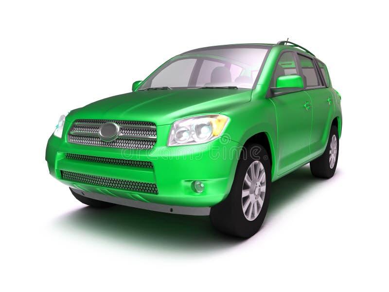 New glossy 4x4 car stock illustration
