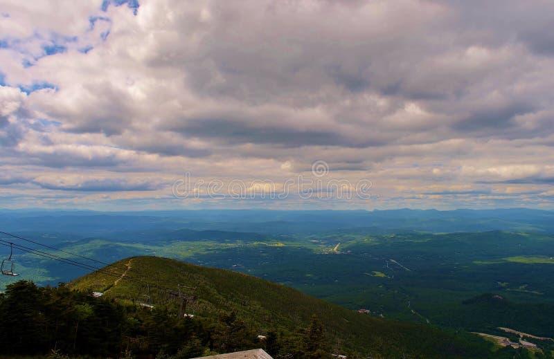 New Hampshire-bergmening royalty-vrije stock foto