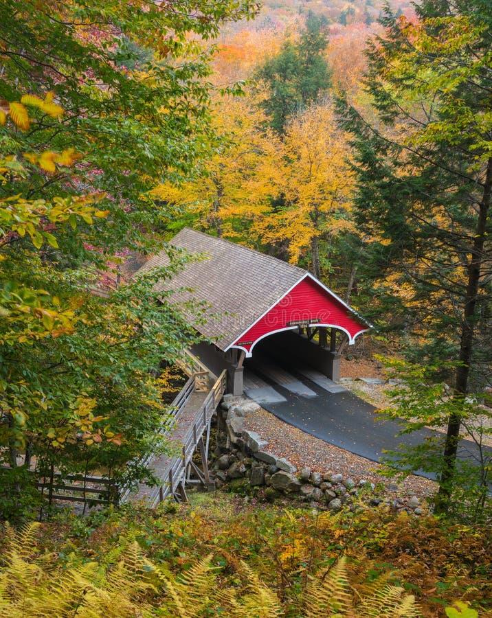 New Hampshire Covered Bridge royalty free stock photo