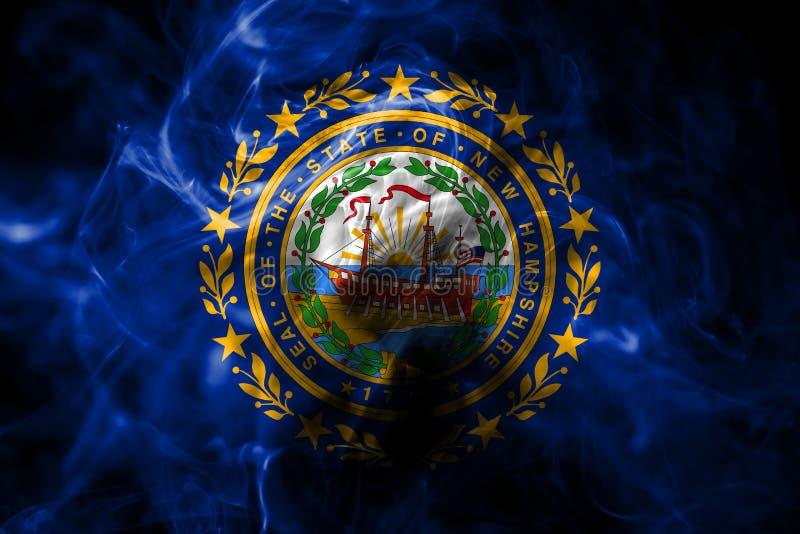 New Hampshire-de rookvlag van de staat, de Verenigde Staten van Amerika vector illustratie