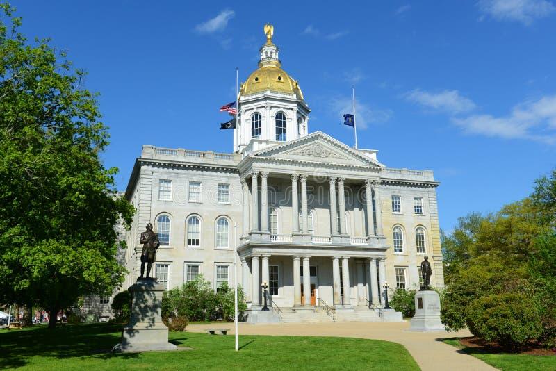 New Hampshire-het Huis van de Staat, Verdrag, NH, de V.S. stock foto's