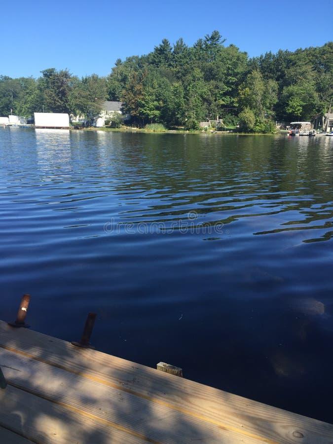 New Hampshire jezioro obraz royalty free