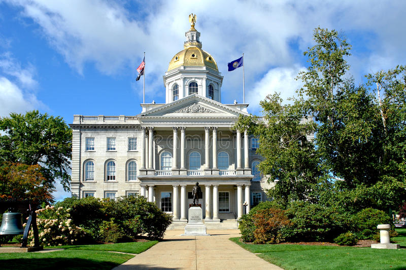 New Hampshire State Capitol Building in Concord NH