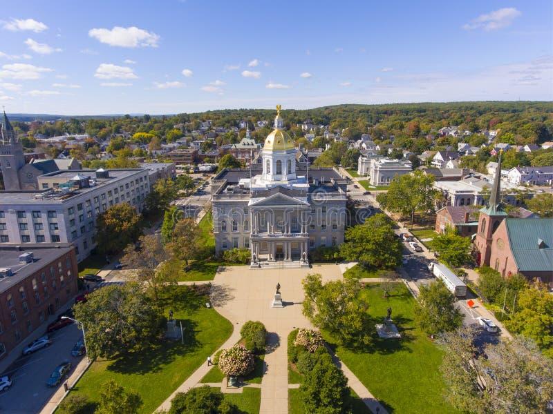 New Hampshire State House, Concord, NH, ΗΠΑ στοκ φωτογραφίες