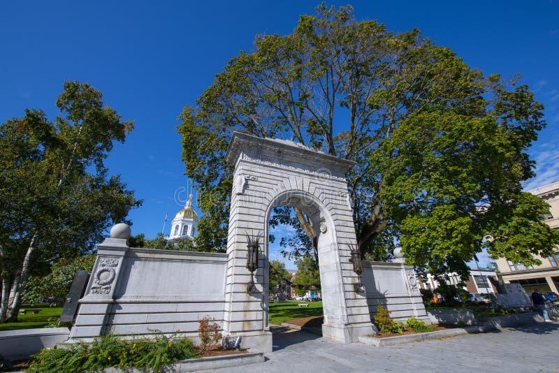 New Hampshire State House, Concord, NH, Stany Zjednoczone Ameryki zdjęcia stock