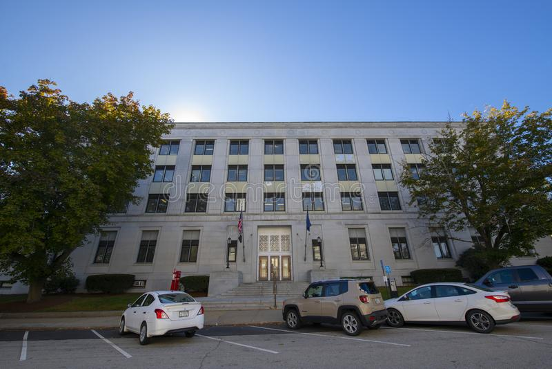 New Hampshire State Office Building, Concord, NH, Stany Zjednoczone Ameryki zdjęcia royalty free