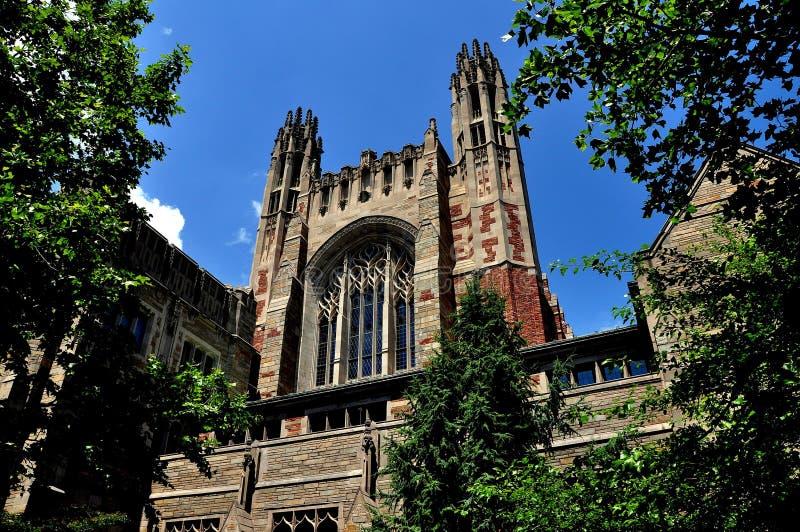 New Haven, CT: Sterling Law School em Yale University fotografia de stock royalty free