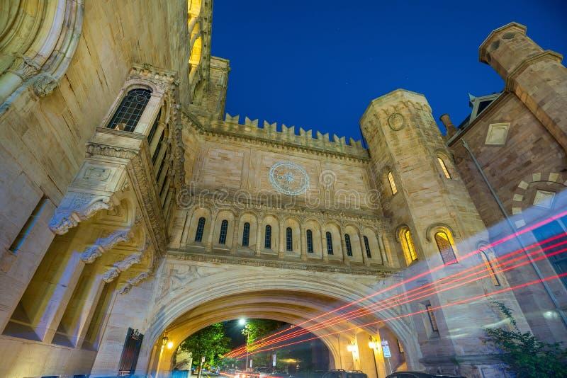 New Haven y Yale University céntricos imagenes de archivo