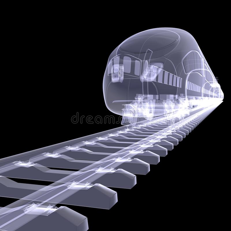 The new high-speed train