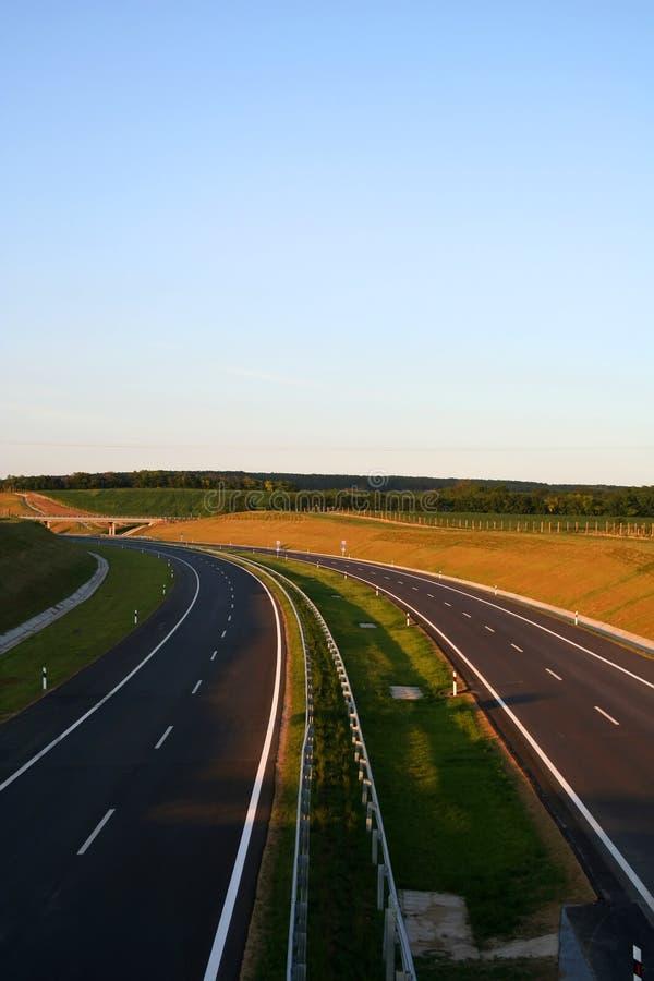 New Highway stock image