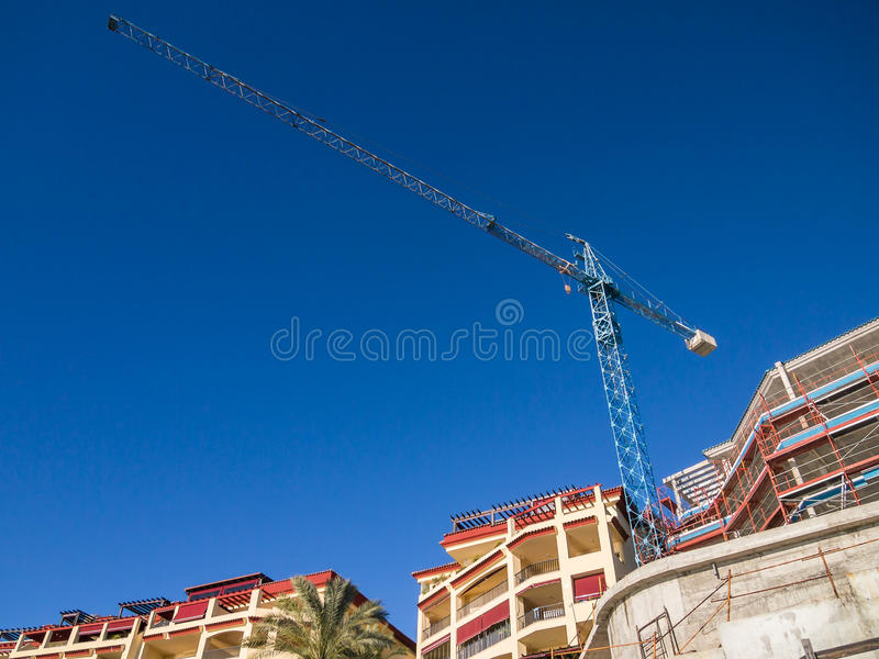 Download New Holiday Apartments Under Construction Stock Photo - Image: 35433064