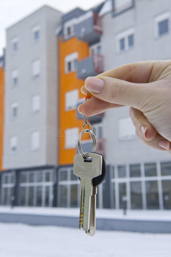 Download New home 1 stock photo. Image of flat, building, blury - 18008024