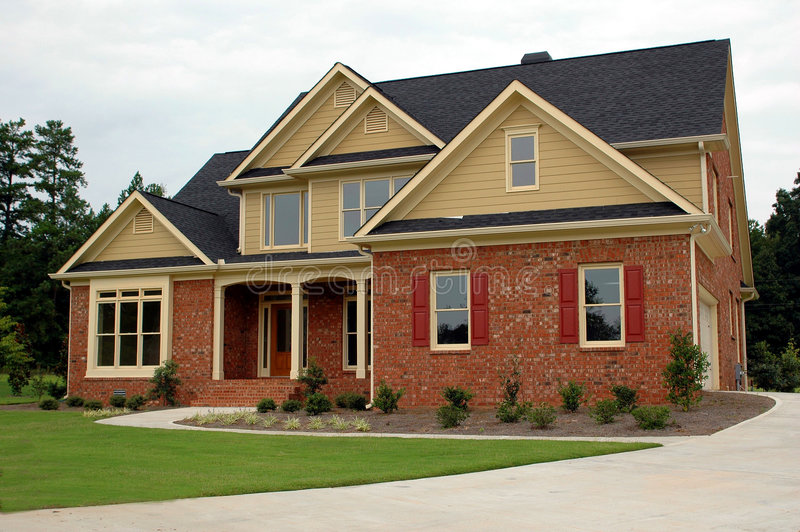 New Home Building stock image