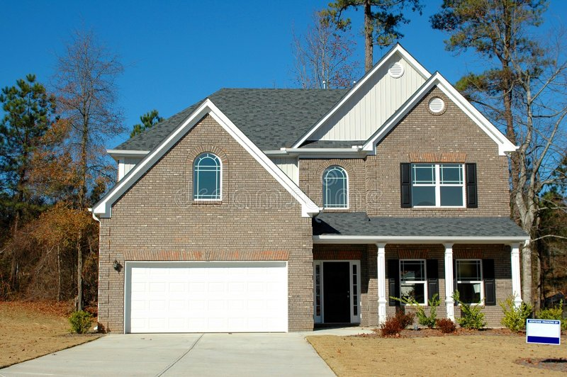 New Home Building stock photography