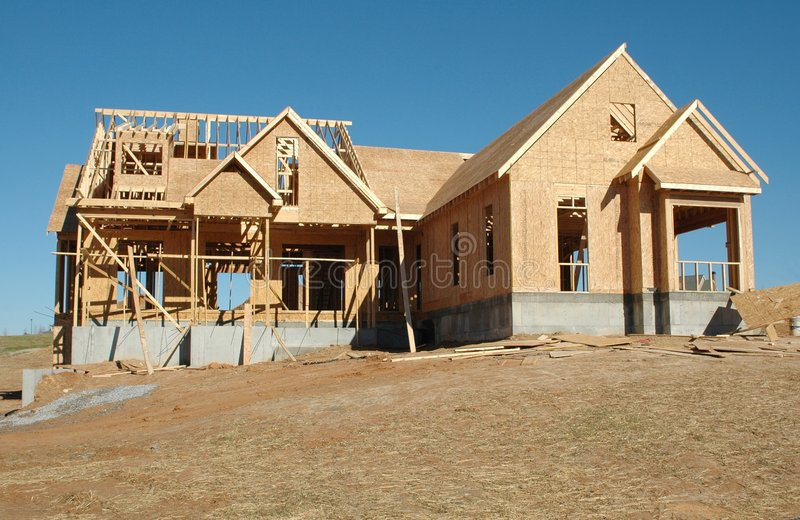 New Home Building stock images