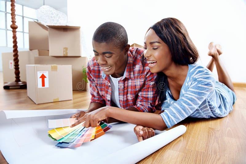 New home choices stock photos