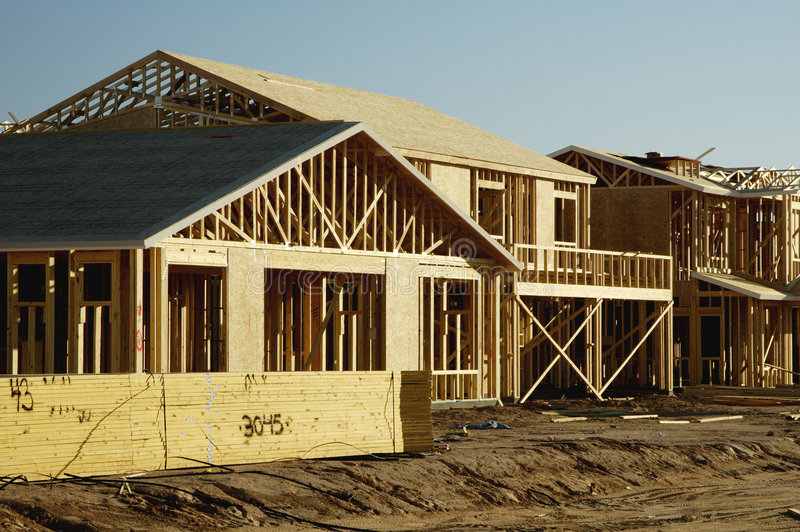 Download New Home Construction stock image. Image of home, homes - 1408651