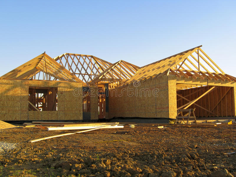 Download New Home Construction Royalty Free Stock Images - Image: 16718649