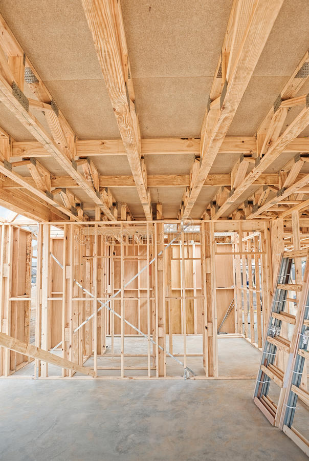 Download New Home Construction Framing. Royalty Free Stock Photography - Image: 21718877