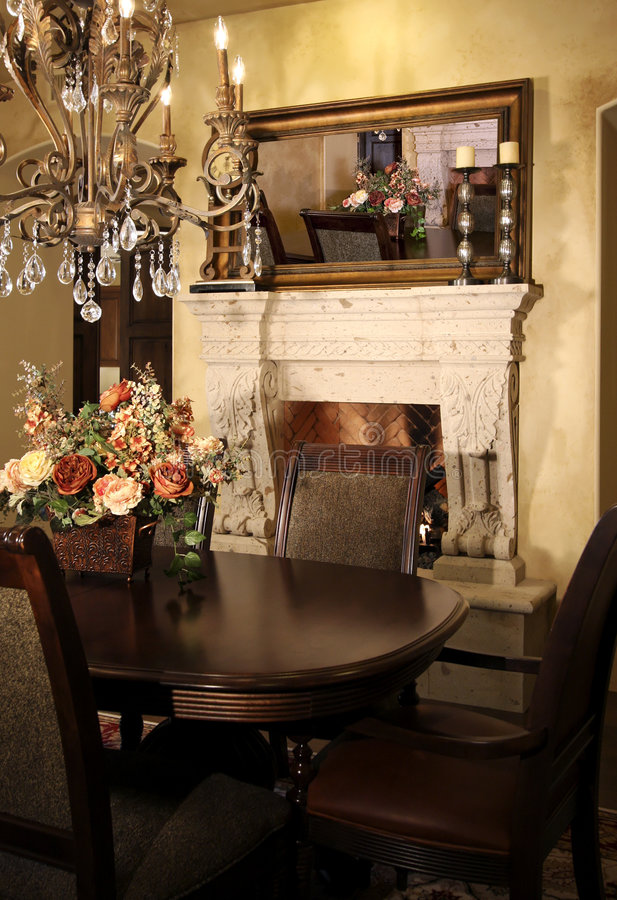 Download New Home Dining Room Stock Image - Image: 7735921