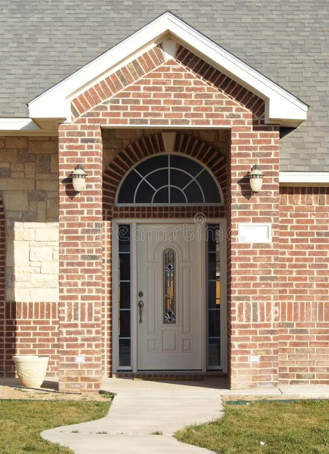 Download New Home Entry Way stock image. Image of real, entrance - 4047949