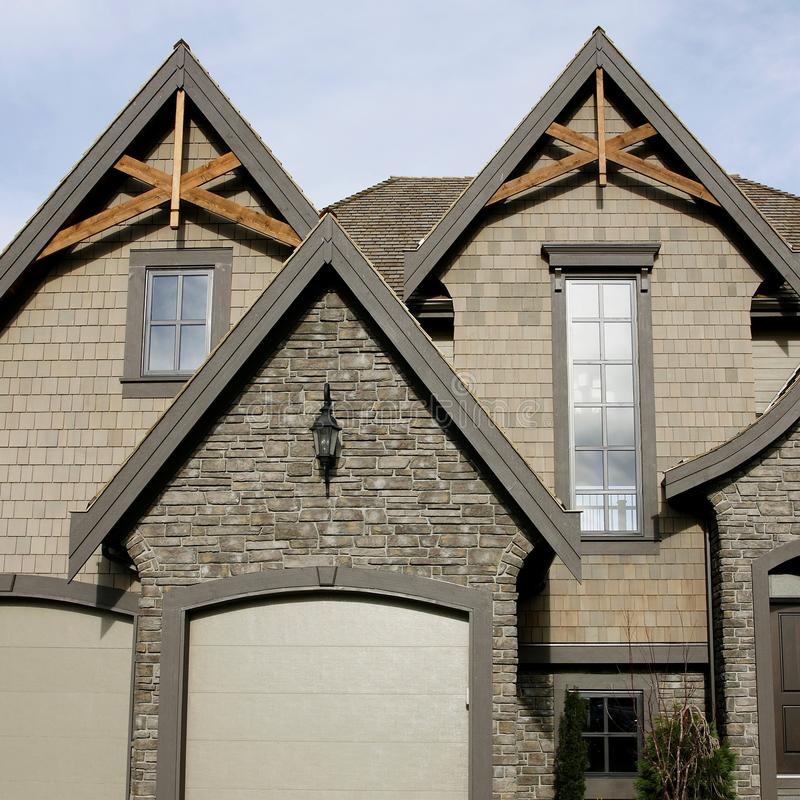 Free New Home Exterior Details Royalty Free Stock Photo - 12630345