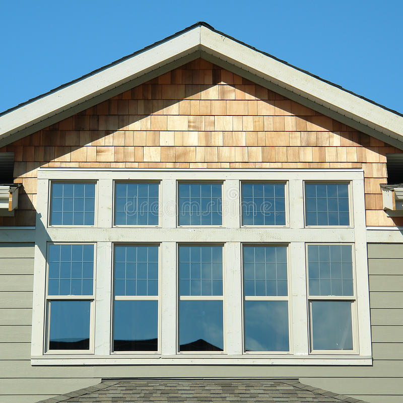 New Home Exterior Details royalty free stock photo