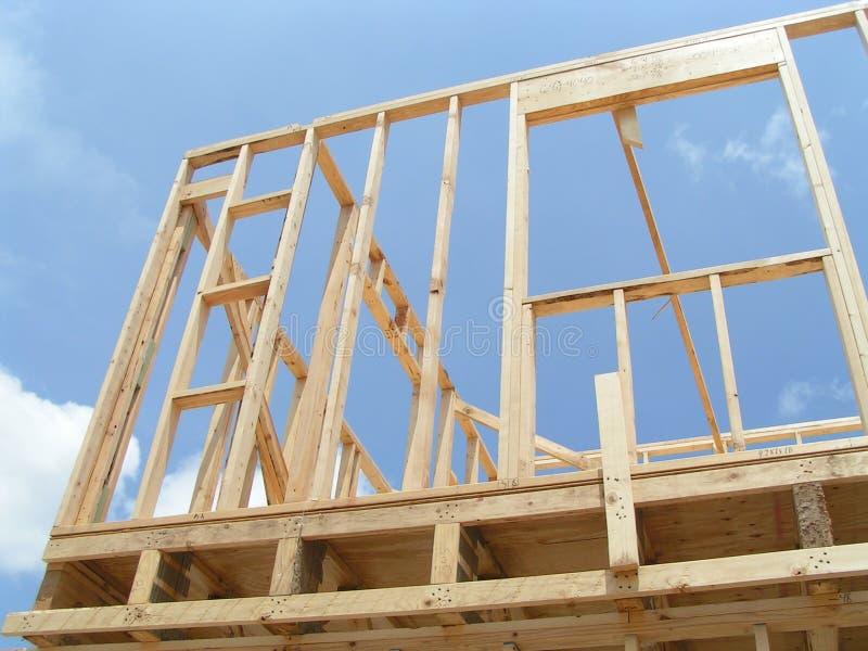 New Home Framing stock photos