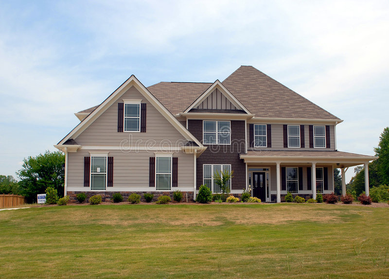 New Home For Sale royalty free stock image