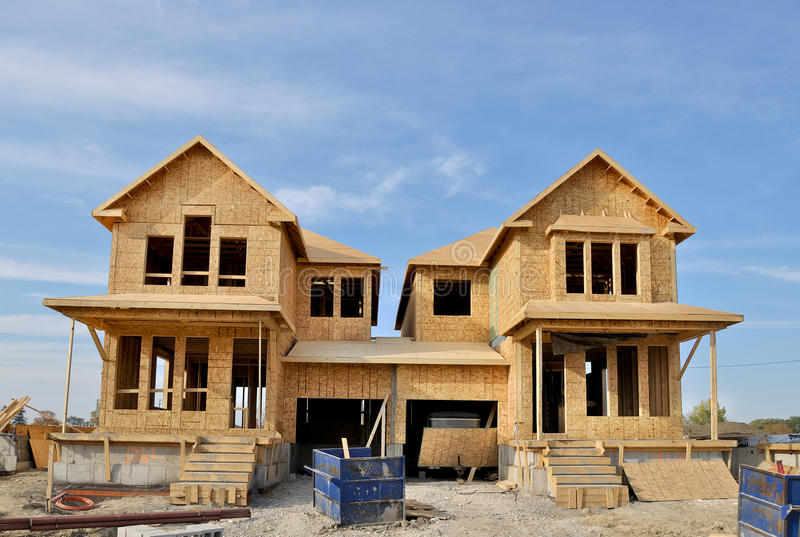 New homes stock photography