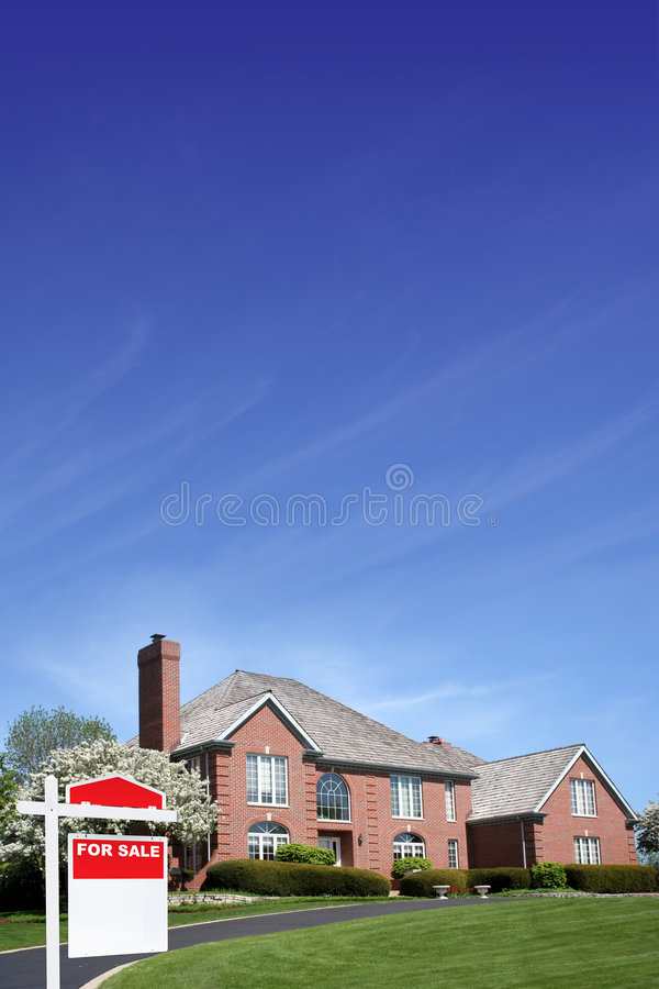 New House royalty free stock image