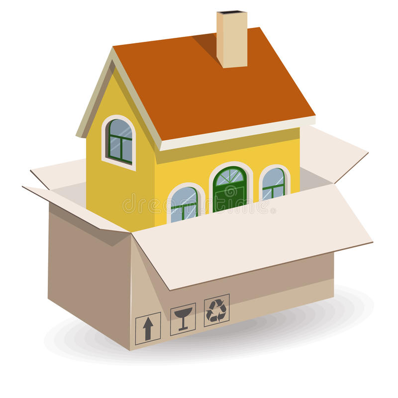 Download New house stock illustration. Illustration of property - 25315690